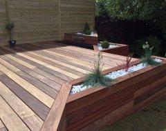 Terrasse en bois par Horizon nature SARL